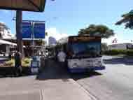 バス停風景です